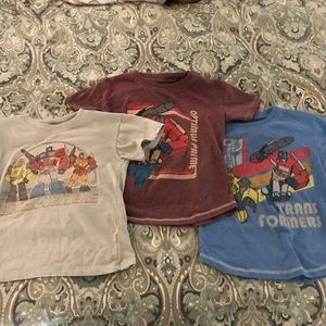 Other - Lot of three (3) boys transformers t-shirts